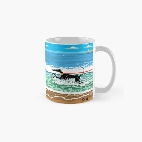 Courir en mer Mug classique