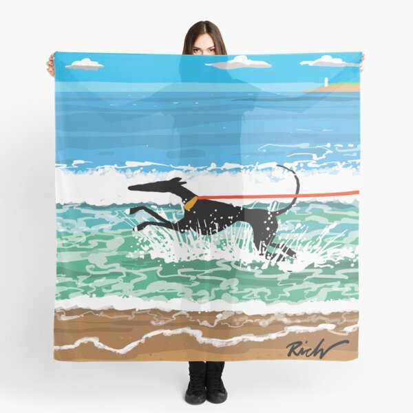 Running in the Sea Scarf