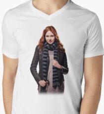 Amy Pond - The Girl Who Waited Mens V-Neck T-Shirt