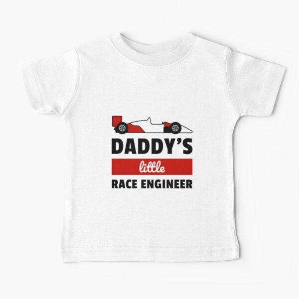 Matching Shirt for F1 Fans - little race engineer Baby T-Shirt