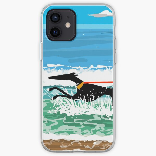 Running in the Sea iPhone Soft Case