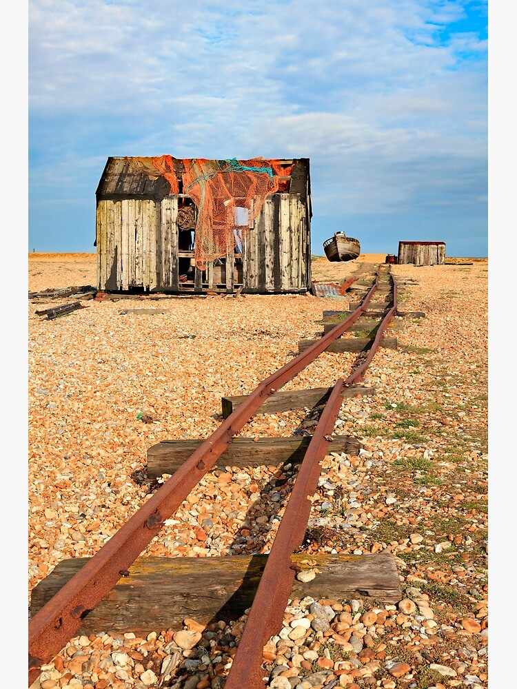 Old Rail Track (Dungeness) by bitm2007
