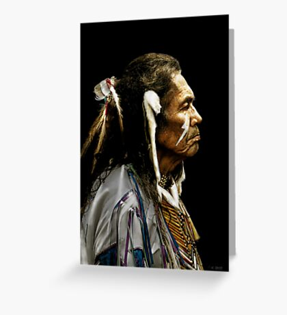 Native American - Dakota Greeting Card