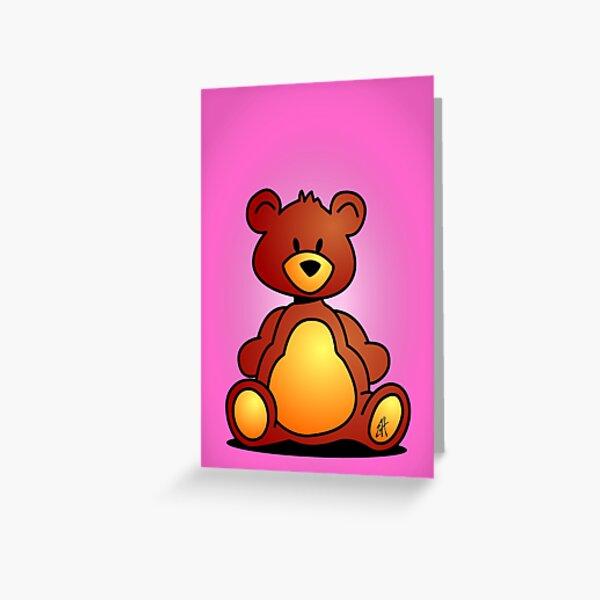 Cuddly Teddy Bear Greeting Card