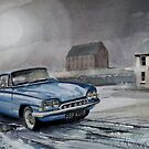 Ford Consul Capri by JohnLowerson