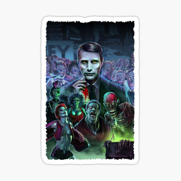 Hannibal Holocaust - They Live - Living Dead Sticker