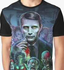 Hannibal Holocaust - They Live - Living Dead Graphic T-Shirt