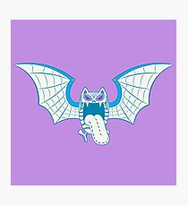 Golbat Pokemuerto | Pokemon & Day of The Dead Mashup Photographic Print