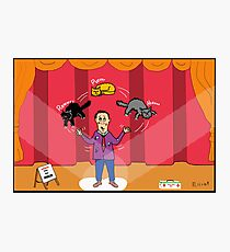 Amazo - The Cat Juggler Photographic Print