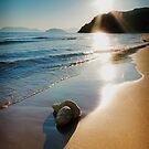 Gerakas Beach Sunset, Zakynthos, Greece by Giles Clare