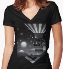 The globe Women's Fitted V-Neck T-Shirt
