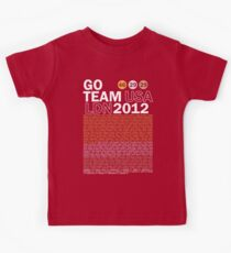 Team USA 2012 Kids Tee
