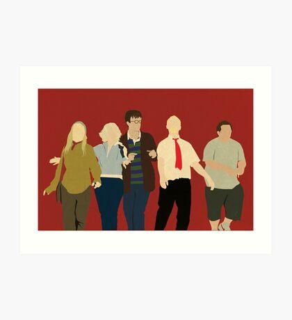 Team Winchester Art Print