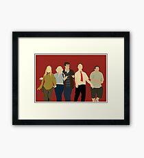 Team Winchester Framed Print