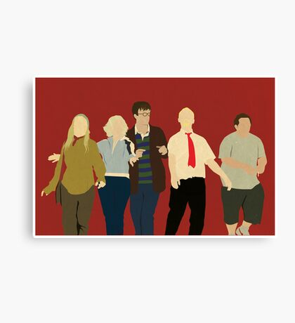Team Winchester Canvas Print