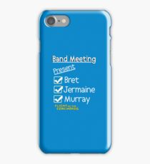 Flight of the Conchords - Band Meeting iPhone Case/Skin