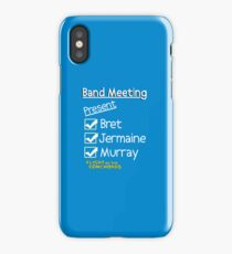 Flight of the Conchords - Band Meeting iPhone Case