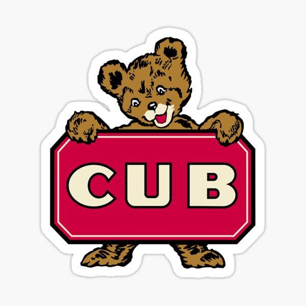 Classic CUB Bear Sticker