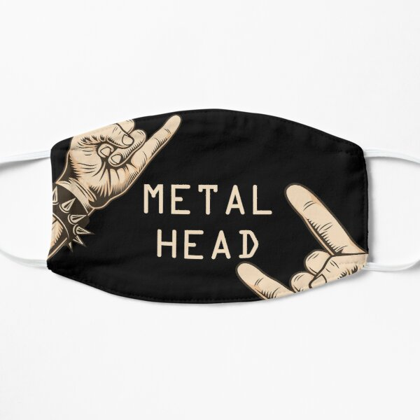 Metalhead Art mask, T-shirt, Poster !! Mask