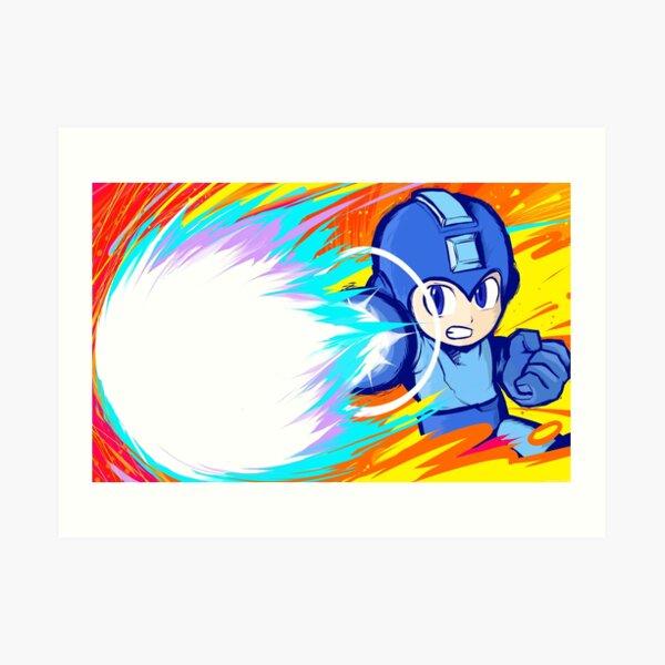Mega Man   Charge Shot Art Print