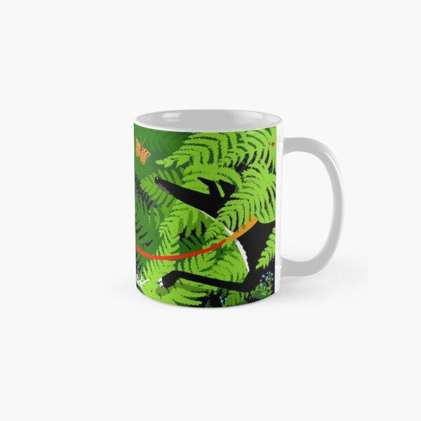 Hound among the ferns Classic Mug