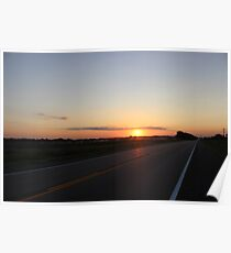Sunrise In Eastern Nebraska Poster