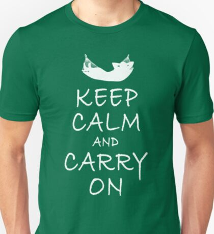 Weekend Leasure: Keep Calm And Carry On T-Shirt