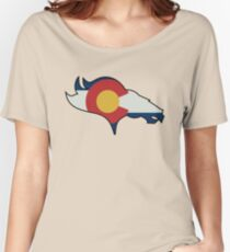 Colorado Flag Design  Women's Relaxed Fit T-Shirt