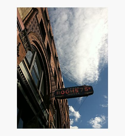 Seattle State Hotel, Pioneer Square Photographic Print