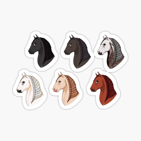 All andalusians pack Sticker