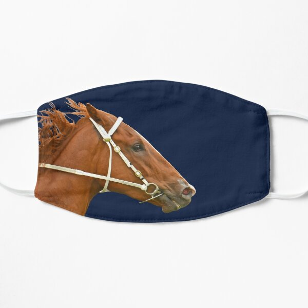 Horse racing action 6 Mask