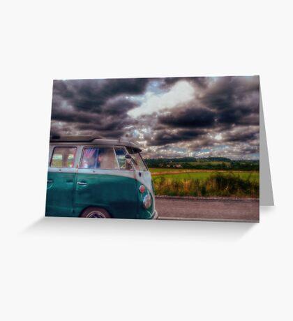 A Break in the Clouds Greeting Card