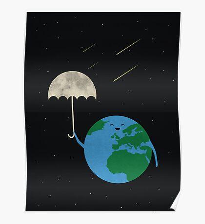 Moonbrella Poster