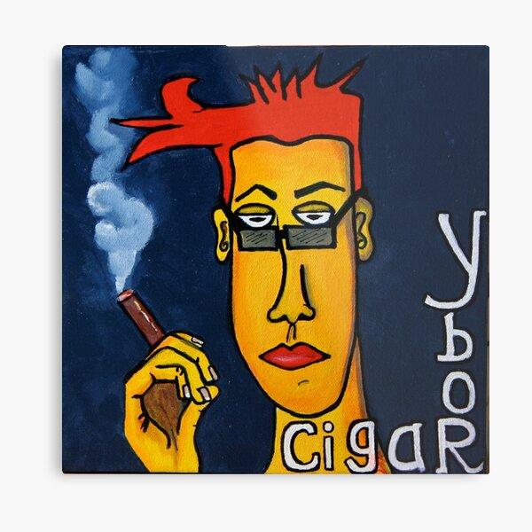 Ybor and Cigars Metal Print