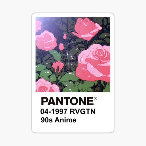 PANTONE 90s Anime (5) - Revolutionary Girl Utena  Sticker