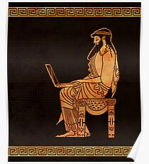 Ancient Greek Businessman Poster