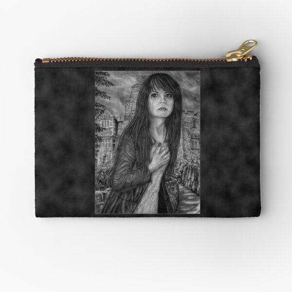 Leaving. Original artwork by Dean Sidwell Zipper Pouch