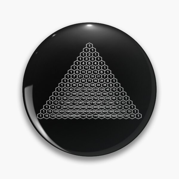 In mathematics, Pascal's triangle is a triangular array of the binomial coefficients Pin