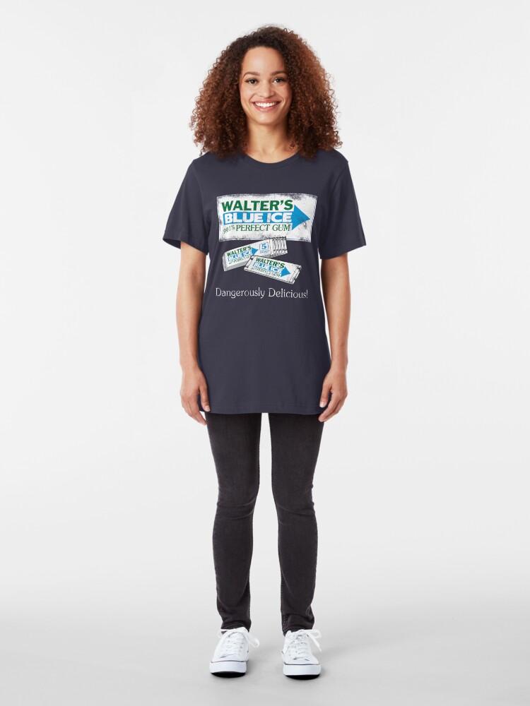 Alternate view of Walter's Blue Ice Gum Slim Fit T-Shirt
