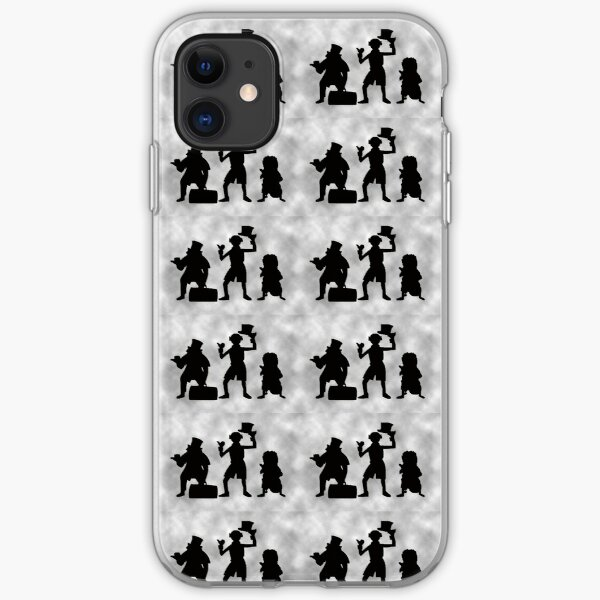 Silhouettes iPhone Soft Case