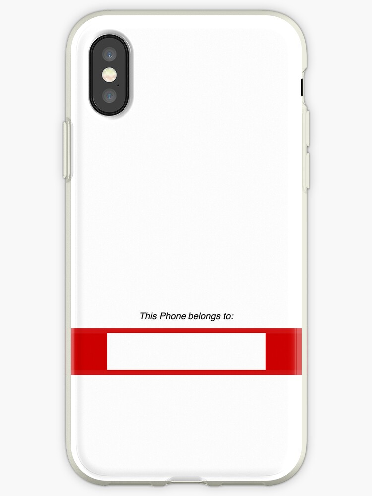 'This phone belongs to (write your name or sign your phone) #2, iphone 4  4s, iPhone 3Gs, iPod Touch 4g case' iPhone Case by lapart