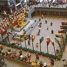 Lego Rockefeller Skating Rink, Lego Rockefeller Center Store, Rockefeller Center, New York City by lenspiro