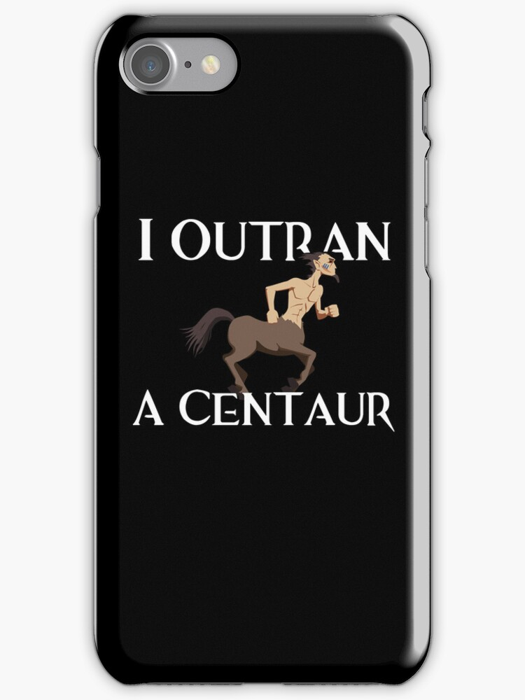 I Outran a Centaur by ScottW93