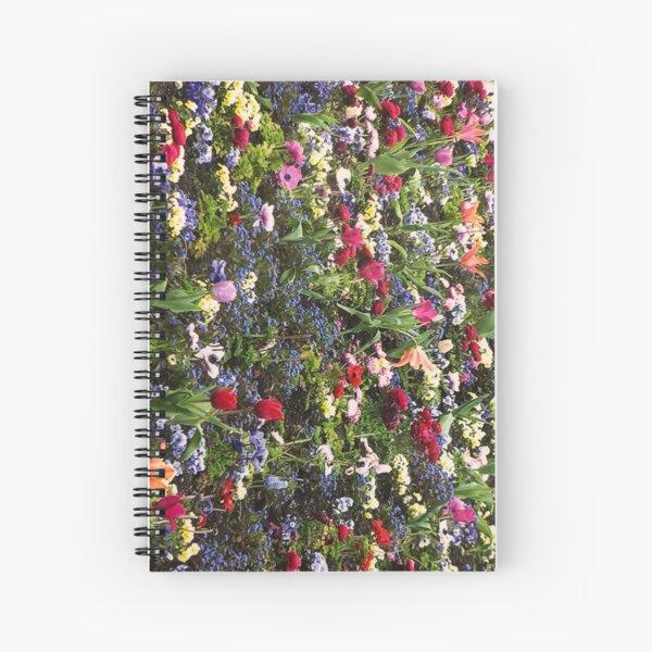 Amsterdam flower show  Spiral Notebook
