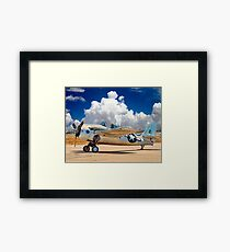 F4F Naval Fighter Framed Print