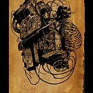 Gospel Machine #1 by matthewdunnart