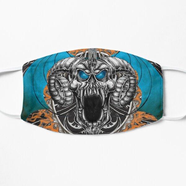 Blue Demon Wings & Skull Mask Mask