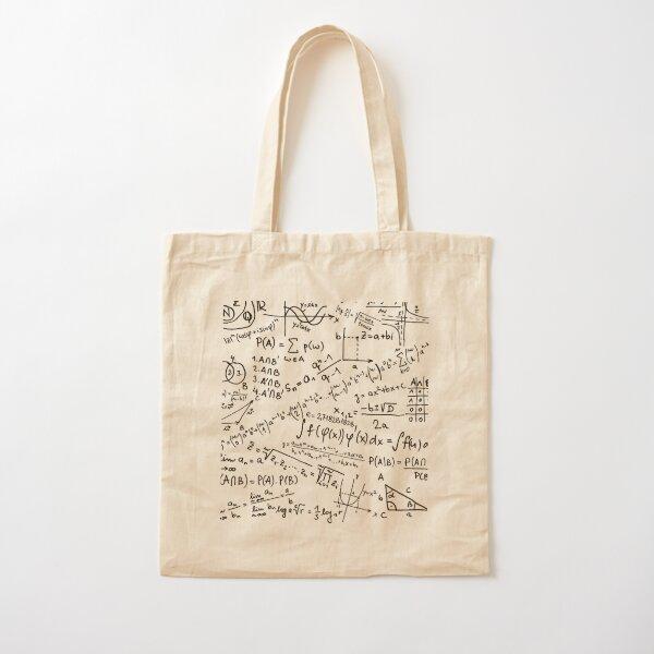 mathematics Cotton Tote Bag