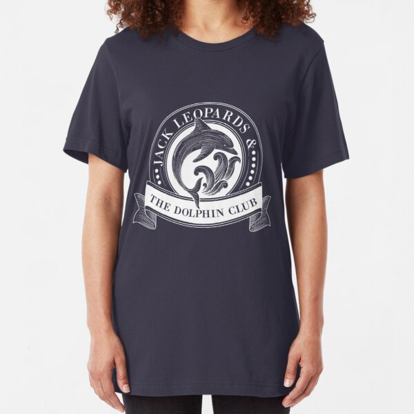 Jack Leopards & The Dolphin Club Slim Fit T-Shirt