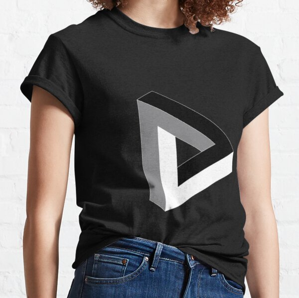 Sign, psychedelic art,art movement,psychedelic,movement,wallpaper, art Classic T-Shirt